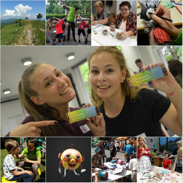 ''EU PROJECT, MY PROJECT'' campaign with over 40 events all over Slovenia