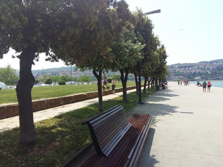Evropska sredstva za ureditev obalnih parkovnih rekreacijskih površin v Kopru
