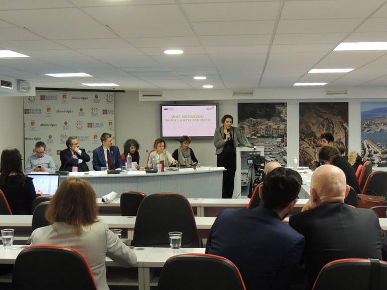 Partnerji projekta Retrace na dogodku Krožne regije na poti