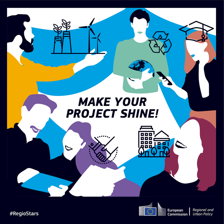 RegioStars Awards 2020: applications now open to award the best EU Cohesion policy projects