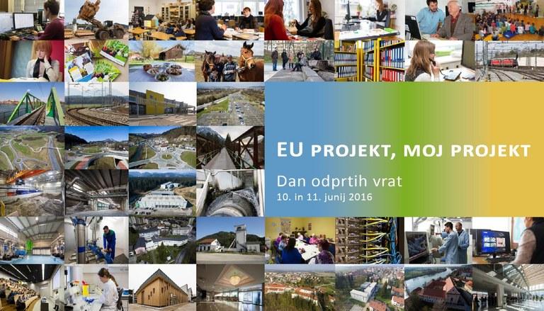 EU projekt, moj projekt 2016 - glasujte in se nam pridružite na dogodkih!