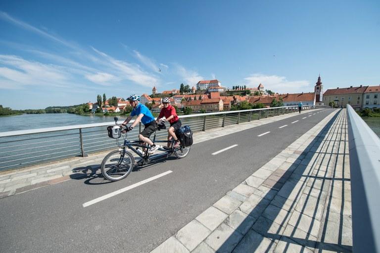 Evropska sredstva za kolesarske povezave na Ptuju