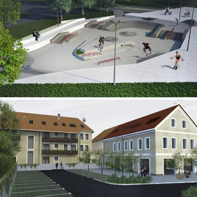 Evropska sredstva za obnovo »Skate parka« v Mariboru in revitalizacijo degradiranega urbanega dela v Velenju