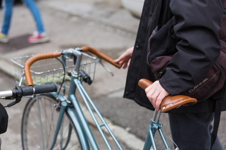 Evropska sredstva za ureditev kolesarske mreže na Dunajski cesti v Ljubljani