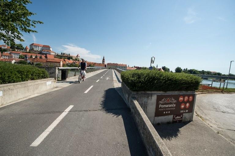 Evropska sredstva za ureditev površin za pešce in kolesarje na Ptuju