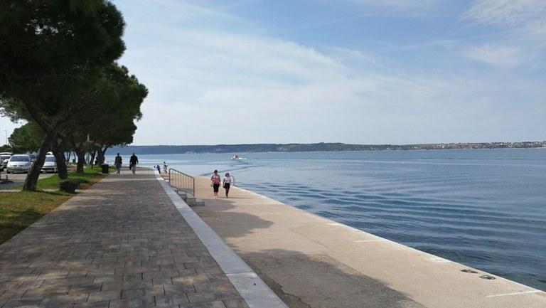 Kolesarska in pešpot čez Kanal Grande v Kopru podprta z evropskimi sredstvi