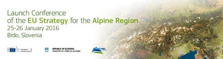 Koferenca ob zagonu Strategije EU za Alpsko makroregijo
