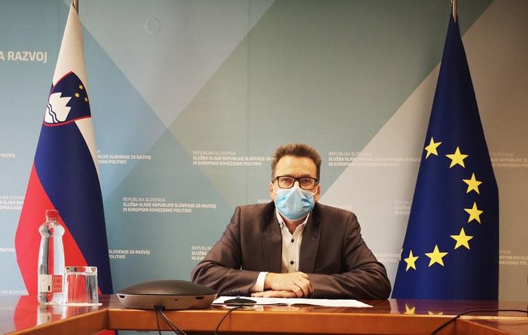 Minister Černač na letni skupščini Skupnosti občin Slovenije