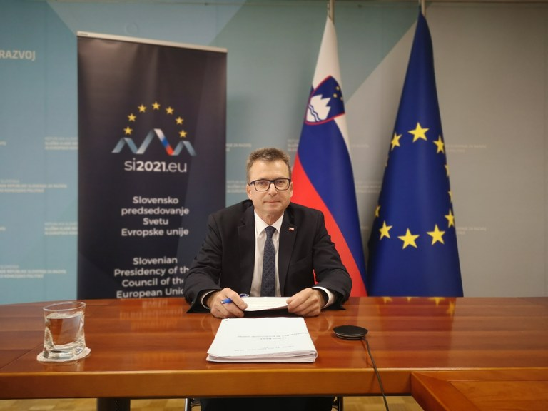 Minister Černač v Evropskem parlamentu o pomenu evropske kohezijske politike za hitrejše okrevanje po pandemiji covida-19