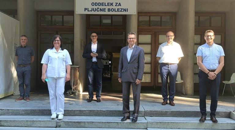 Minister Černač v Podravju: »Z evropskimi sredstvi bomo zagotovili boljšo kakovost zdravstvenih storitev in dostojno obravnavo ter skrajšali čakalne vrste.«