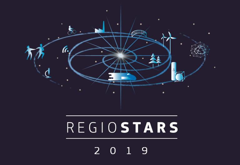 REGIOSTARS za leto 2019 - podpora projektoma