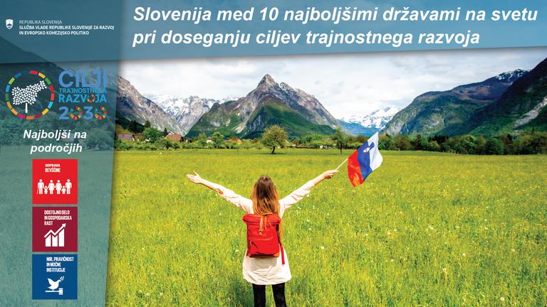 Slovenija visoko na 9. mestu med 165 državami iz celega sveta  pri doseganju ciljev trajnostnega razvoja