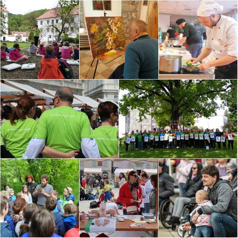 Več kot 12.000 obiskovalcev dogodkov EU PROJEKT, MOJ PROJEKT 2019
