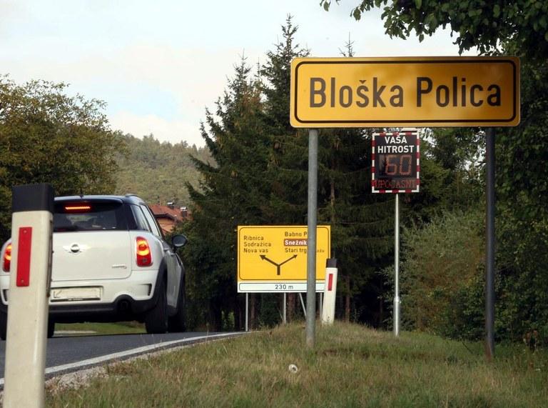 Za boljše prometne povezave: Evropska sredstva za rekonstrukcijo ceste Cerknica-Bloška Polica